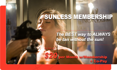 Sunless (Airbrush) Tanning Pricing